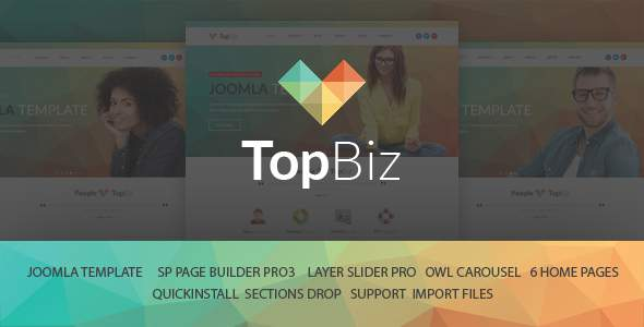 TopBiz – Responsive Corporate Joomla Template With Page Builder            TFx Ralf Bryant