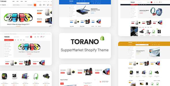 Torano - Supermarket Marketplace Ultimate Shopify Theme Section Ready            TFx Austyn Shota