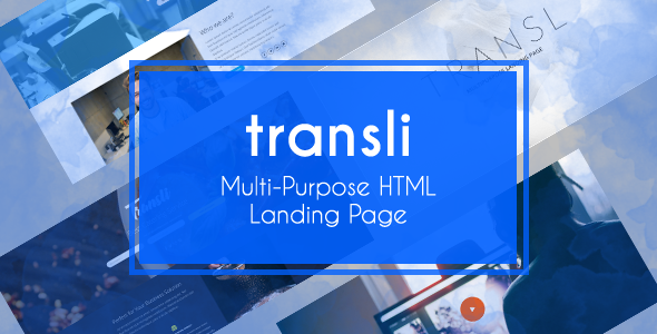Transli - Multipurpose HTML5 Responsive Template            TFx Jeptha Deon