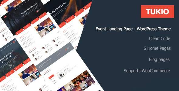 Tukio | Event Landing Page WordPress Theme            TFx Bronte Manuel