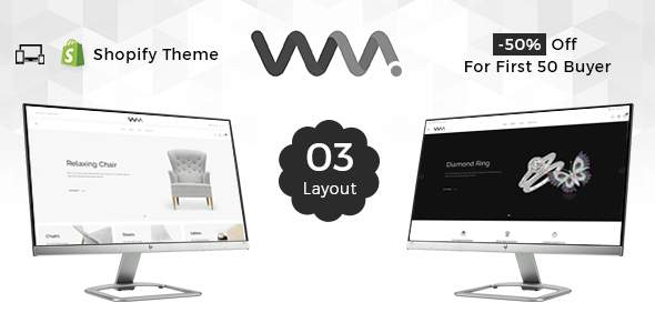 WooMart - Sectioned Multipurpose Shopify Theme            TFx Kelvin Vosgi