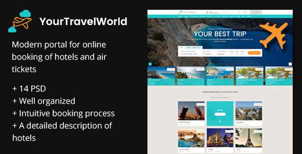 Your Travel World — Online Travel Booking            TFx Layne Odin