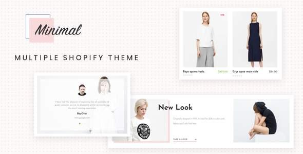 Ap Minimal Shopify Theme            TFx Rene Jake