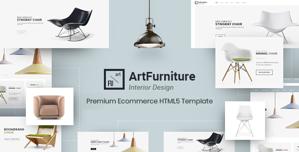 ArtFurniture – Furniture eCommerce Template            TFx Griffin Maquinna