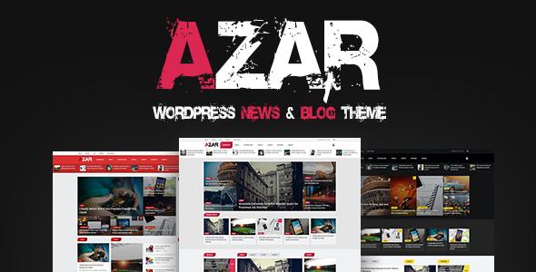 Azar - WordPress News & Blog Theme            TFx Trevor Denzil