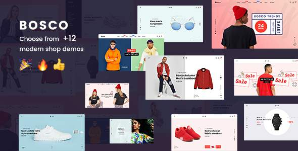 BOSCO – Responsive eCommerce PSD Template            TFx Wira Stacy