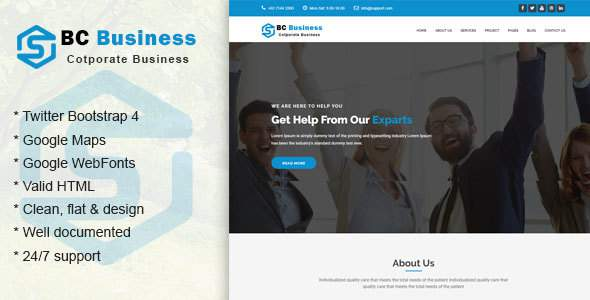 Bc-Business || Corporate and Business Template            TFx Denton Cliff