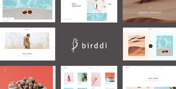 Birddi - A Creative Portfolio WordPress Theme            TFx Baxter Brigham