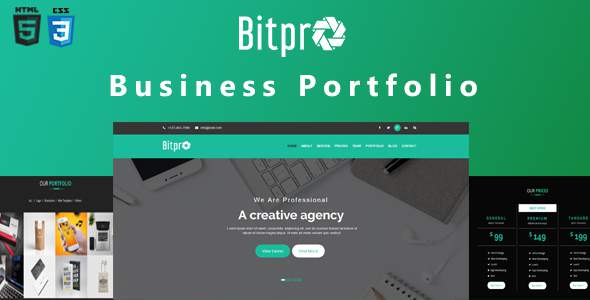 BitPro-Multipurpose Business and Corporate Template            TFx Jamison Moses