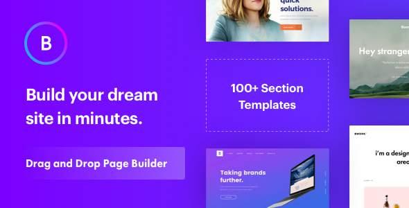 Boo - Creative Agency, Corporate and Portfolio Multi-purpose Template with Page Builder            TFx Tatanka Kichirou