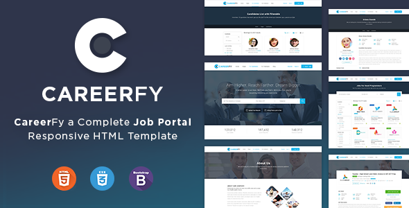Careerfy - Job Board HTML Template            TFx Perce Orville