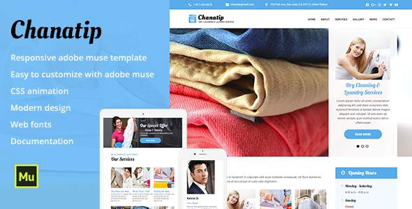 Chanatip - Responsive Dry Cleaning & Laundry Service            TFx Tiger Anthony
