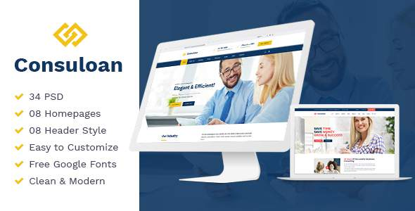 Consuloan | Multipurpose Consulting WordPress Theme            TFx Oli Jamie