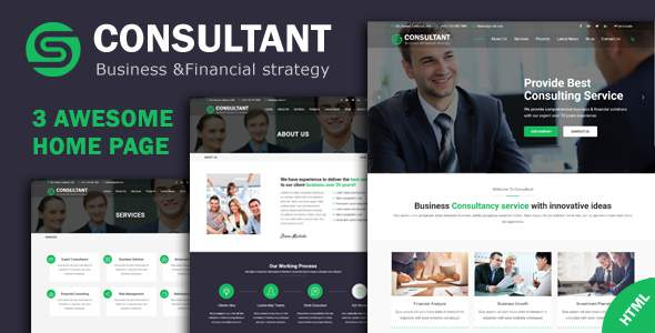 Consultant - Business Financial Consulting & Professional Services HTML Template            TFx Ramsey Alpha