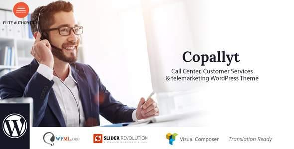 Copallyt : Call Center & Telemarketing WordPress Theme            TFx Tod Glen