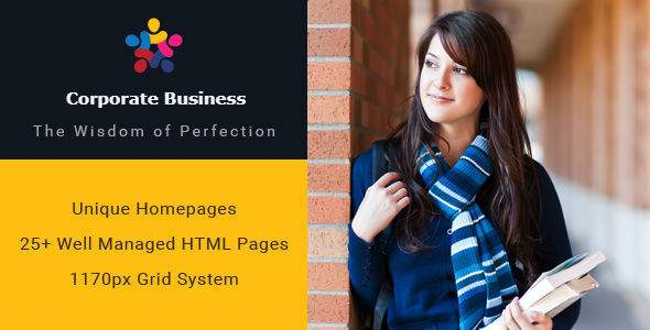 Corporate Business Multipurpose HTML Template            TFx Aubrey Grant