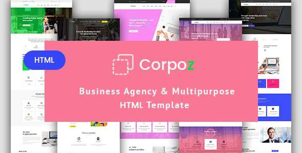 Corpoz - Business Agency Multipurpose HTML Template            TFx Selwyn Mackenzie