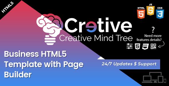 Creative Mind Tree - HTML5 Agency Template            TFx Hamilcar Blair