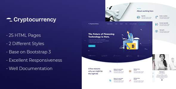 CryptoCurrency - HTML Template            TFx Dian Lawson