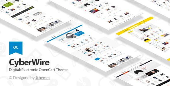 CyberWire – Premium OpenCart Theme            TFx Dustin Benny