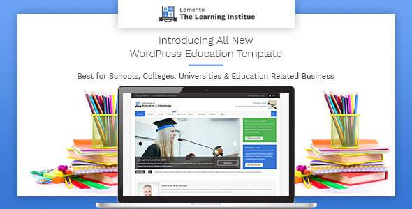 Edmento – Education WordPress Theme            TFx Jules Garth
