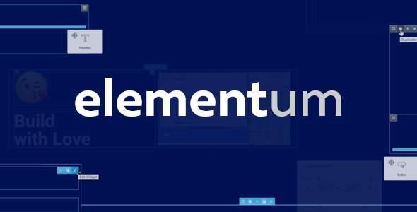 Elementum - MultiPurpose High-Perfomance WP Theme            TFx Brannon Purdie