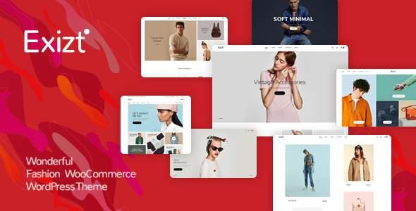 Exizt  - Fashion WooCommerce WordPress Theme            TFx Ozzie Kole