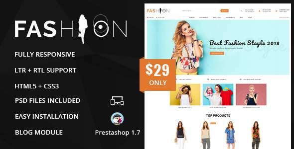 Fashion – Prestashop 1.7 Responsive Theme            TFx Jiro Sarkis