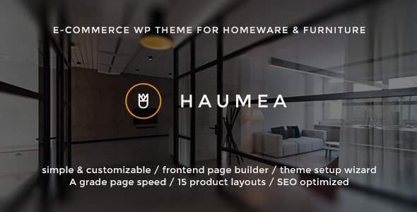 Haumea - E-commerce WP Theme for Homeware and Furniture            TFx Stacy Selwyn