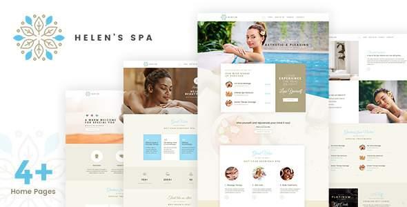 Helen's Spa - Beauty Spa, Health Spa WP Theme            TFx Berny Alva