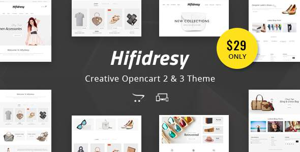 Hifidresy - Multipurpose OpenCart 2 & 3 Theme            TFx Zac Barrie