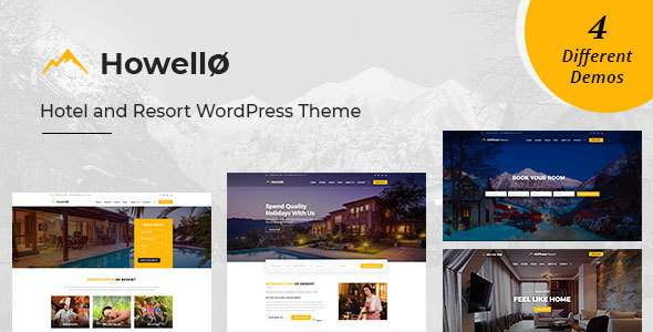Hilltown Resort : Hotel and Resort WordPress Theme            TFx Alf Rolo