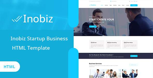 Inobiz - Startup Business and Agency HTML Template            TFx Thaddeus Stanislas