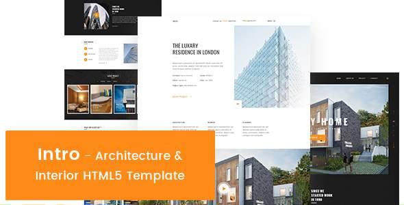 Intro - Architecture & Interior HTML5 Template            TFx Greyson Darma