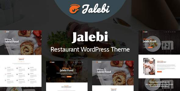 Jalebi - Restaurant WordPress Theme            TFx Russel Laurie