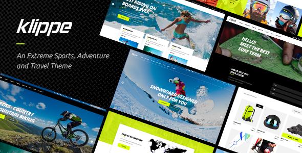 Klippe - An Extreme Sports and Adventure Tours Theme            TFx Mattie Jeremy