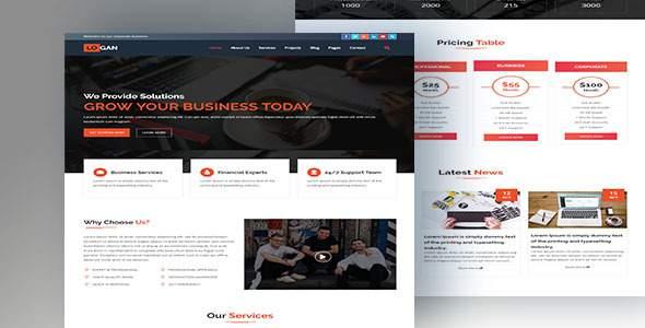 LOGAN-Multipurpose HTML5 Business Template            TFx Brian Richard