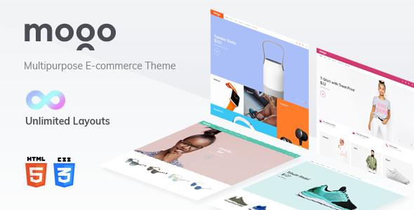 MOGO eCommerce HTML template, electronics store            TFx Placid Carey