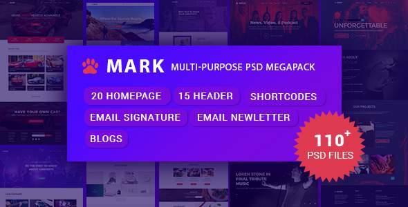 Mark - Multi-Purpose PSD Megapack            TFx Shanon Sefton