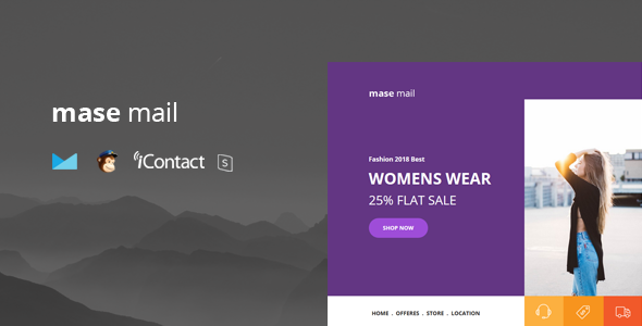 Mase Mail - Responsive E-mail Template + Online Access            TFx Carlyle Wira