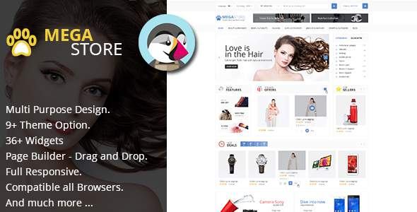 MegaStore - Multipurpose PrestaShop 1.7.x Theme            TFx Livy Heath