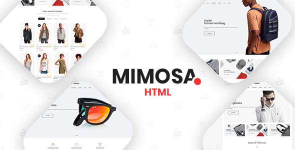 Mimosa - Fashion eCommerce Template            TFx Lowell Ash