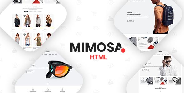 Mimosa - Fashion eCommerce Template            TFx Ryuu Deforrest