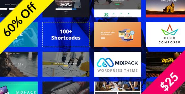 MixPack - Multipurpose WordPress Theme            TFx Kennedy Johnathan