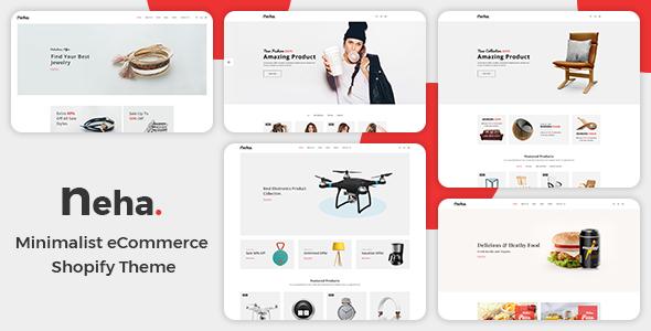 Neha - Multipurpose Shopify Theme            TFx Lorin Abel