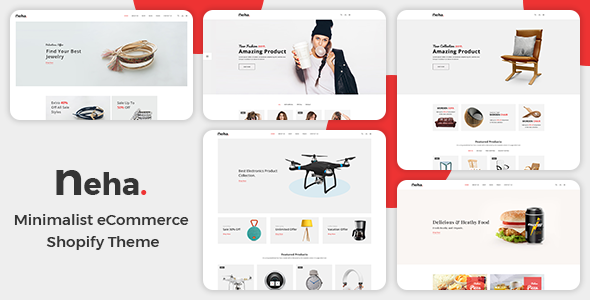 Neha - Multipurpose Shopify Theme            TFx Dewayne Lonnie