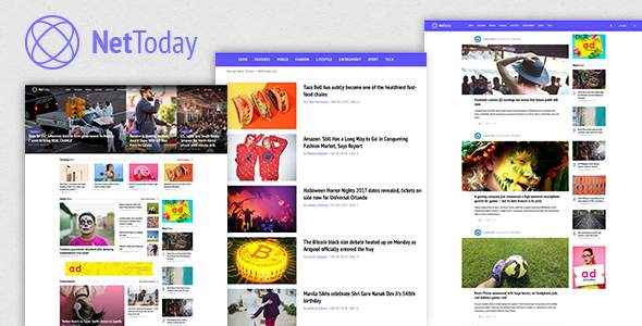 NetToday - Newspaper & Magazine Joomla Template            TFx Tristan Tony
