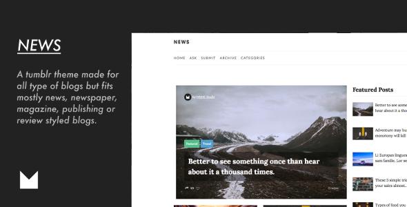 News – Responsive Magazine Theme            TFx Lucas Jackson