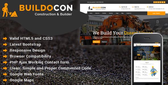 Nirmaan - Construction Company HTML Template            TFx Sanford Hayate