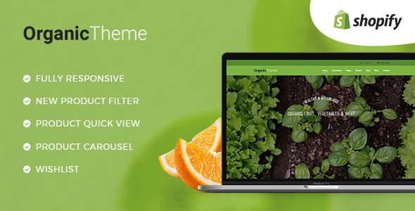 ORGANIC | Organic Farm & Food Business Shopify Theme            TFx Dee Thorburn